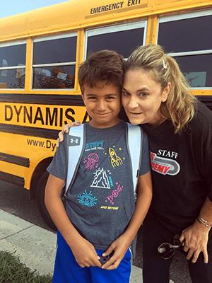 Martial Arts Dynamis Academy happy kid